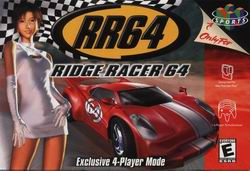 RR64 - Ridge Racer 64 (USA) Box Scan